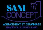 SANICONCEPT Rénovation salles de bain, cuisine, plomberie Logo