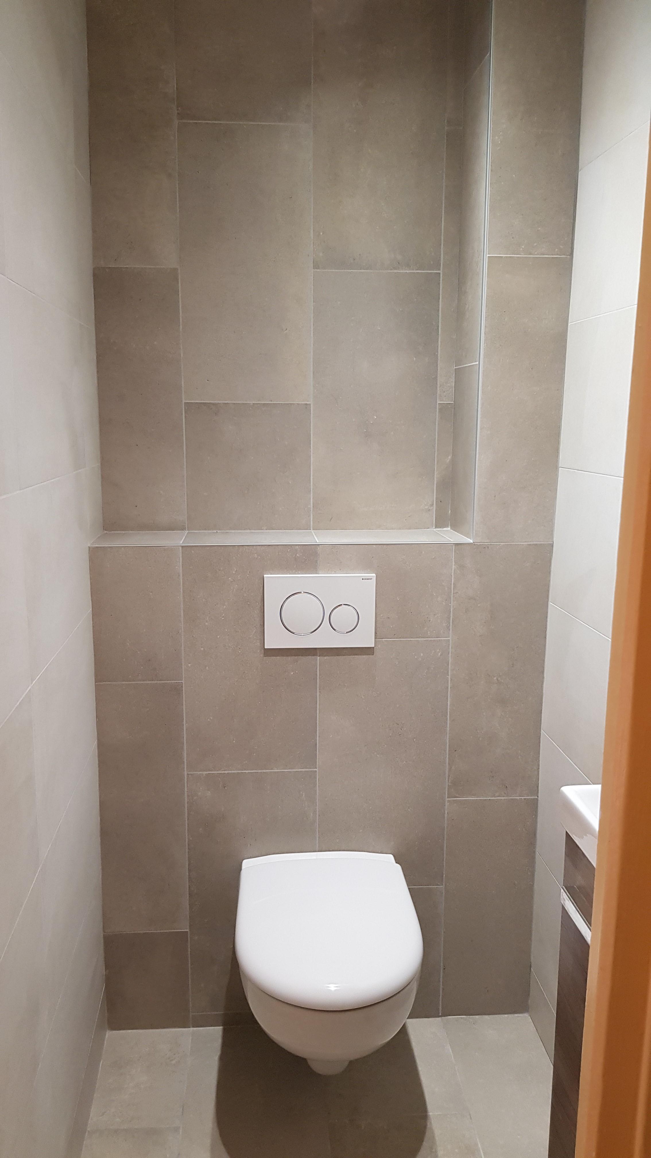 Toilette suspendue