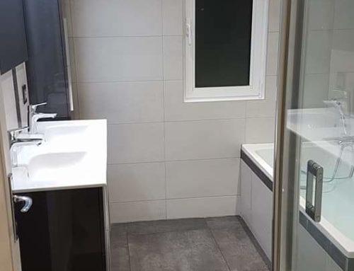 Projet rénovation de salle de bain à Marcoussis