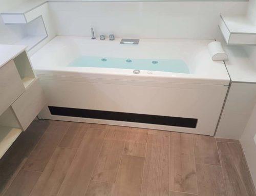 Projet Salle de bain baignoire balnéo
